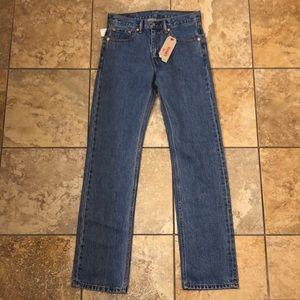 NEW Men's Levis 505 Denim Jeans 30 X 34
